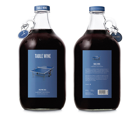 Ping Pong Table Wine