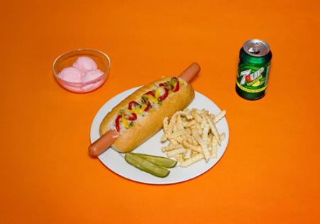 Oversized Hot Dog Prop
