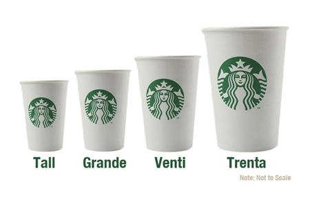 Starbucks Drink Sizes Ml