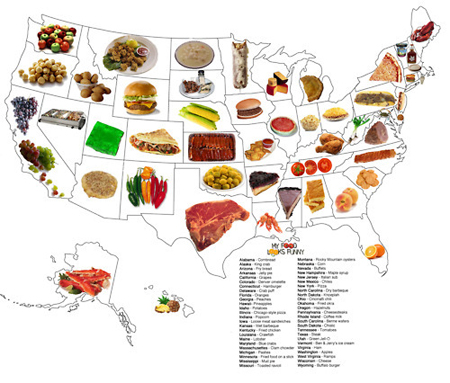 The United States of Food