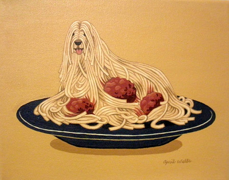 Image Result For Spaghetti Dog