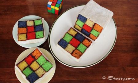 The Rubik S Cube Cake Foodiggity