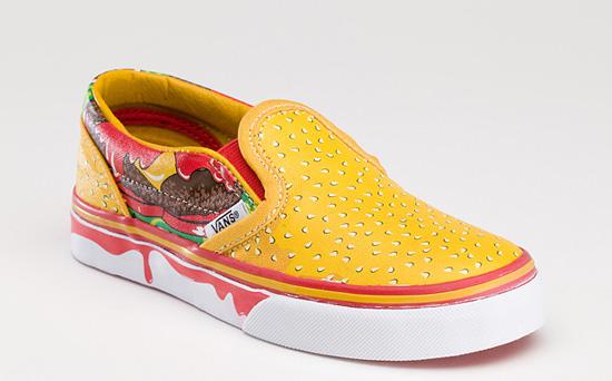 Stylons Vans Cheeseburger Sneaker Slip On