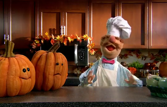 Swedish Chef Carves Some Pumpkins Foodiggity