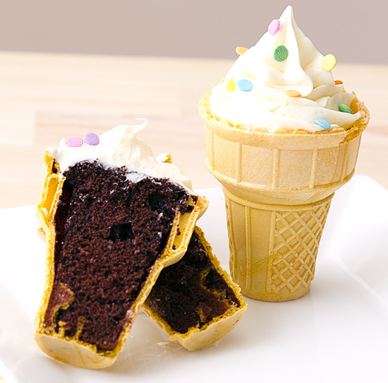 ... than with the food trend that will not die ice cream cone cupcakes