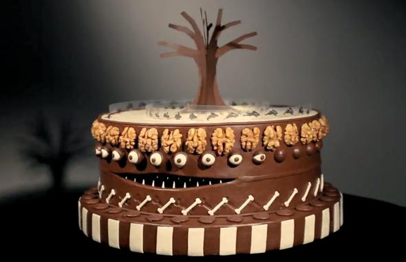 Animated Zoetrope Cake Inspired By Tim Burton Foodiggity