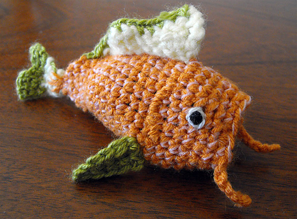 Gecko Lizard Amigurumi Crochet Pattern : Amigurumi Fish That Turns Into Sushi Foodiggity