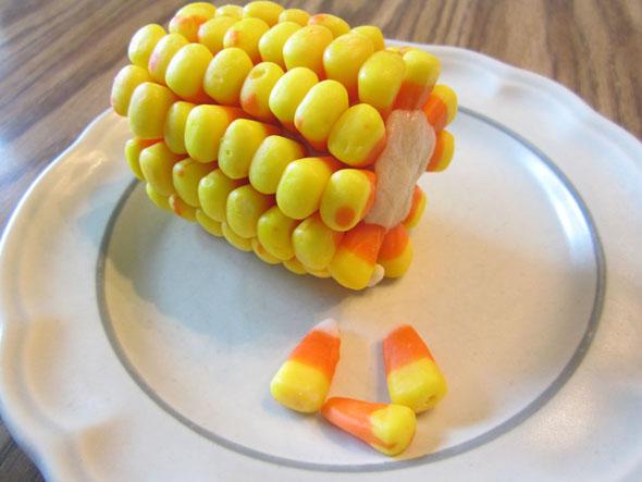 Candy Corn On Cob