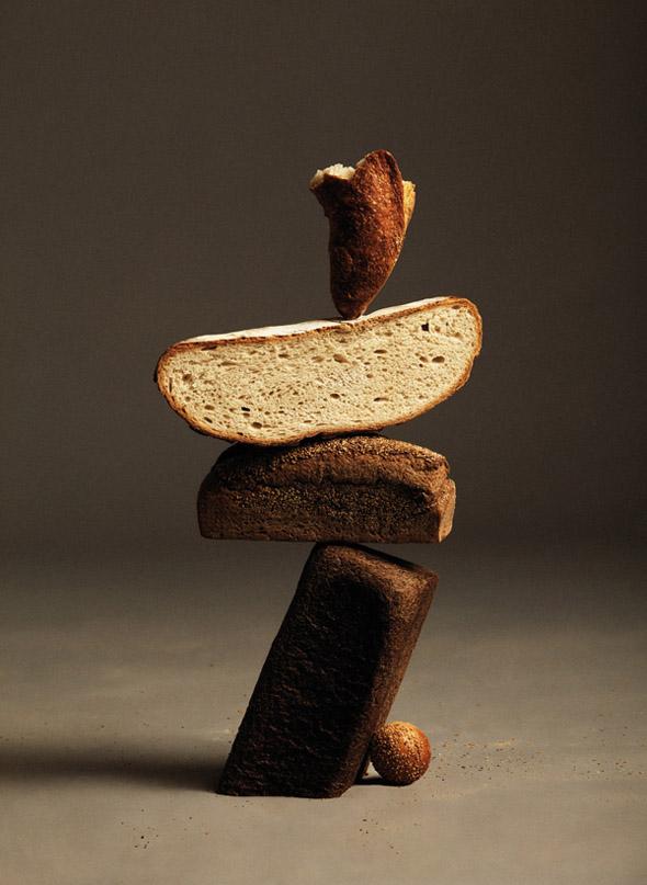 Towers of balancing bread foodiggity - Ana dominguez ...