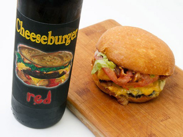 cheeseburger-red-wine