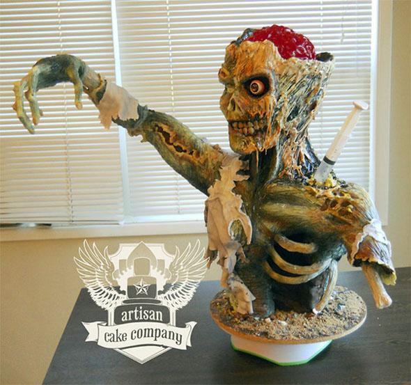 Pinterest Zombie Cake