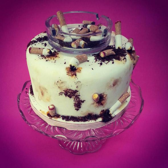 Smokers Birthday Cake