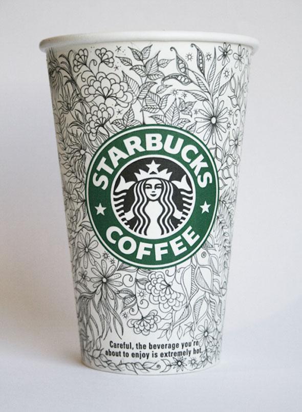 Beautiful Doodles On Starbucks Cups | Foodiggity