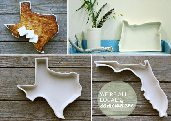 The Fifty United Plates Porcelain Trays In The Shape Of