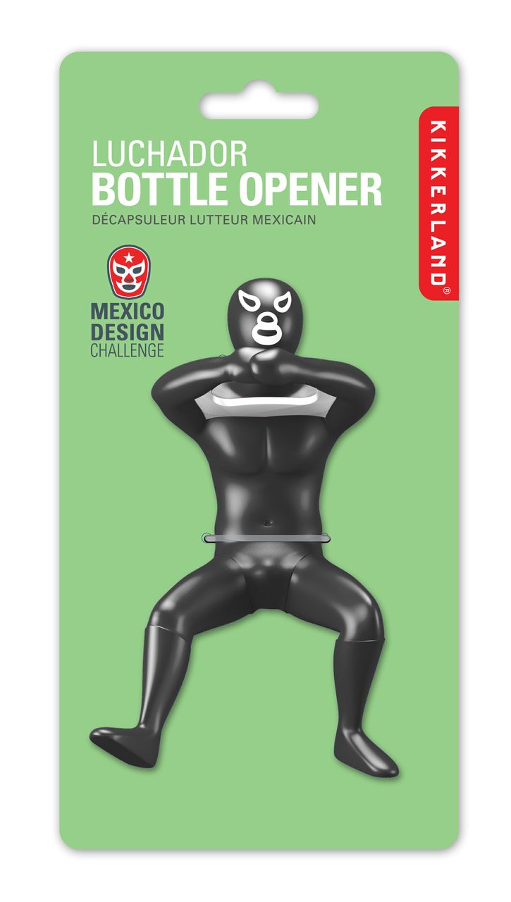 Luchador bottle opener - Mexican wrestler bottle opener ...
