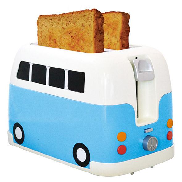 hippie van toaster foodiggity. Black Bedroom Furniture Sets. Home Design Ideas