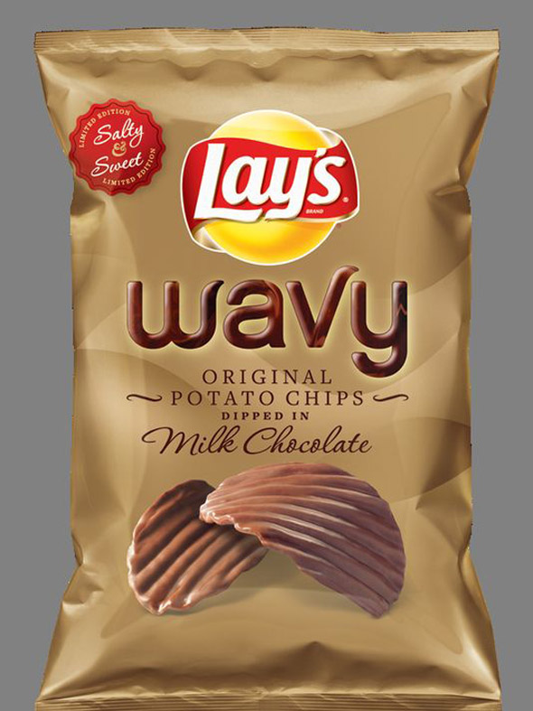 Lay S Chocolate Covered Potato Chips Exist Foodiggity