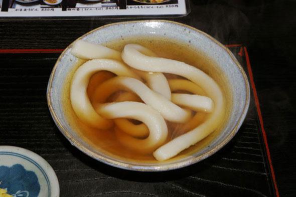 Japanese Restaurant Serves A Bowl Full Of One Very Long