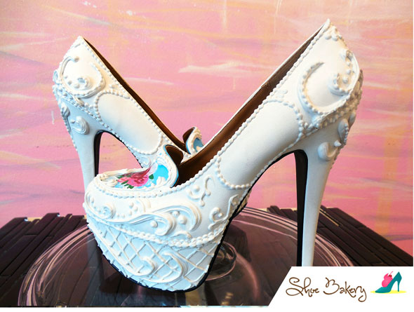 Cream Heeled Shoes Uk