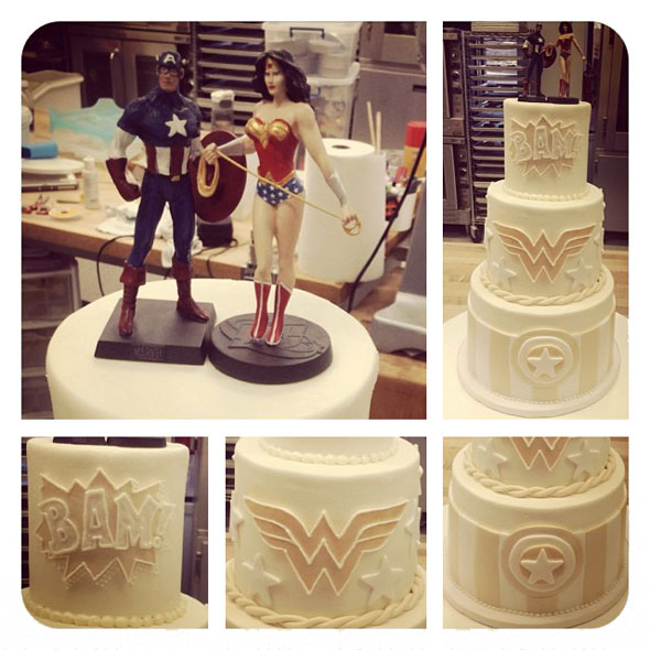 Superhero Wedding Cake Pinterest