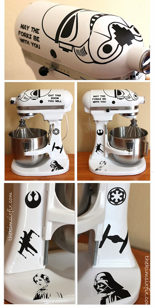 Star Wars Stormtrooper Kitchenaid Stand Mixer Foodiggity