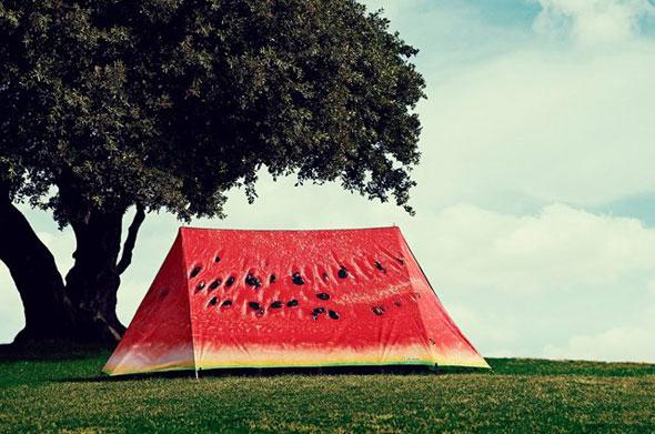 melon-tent