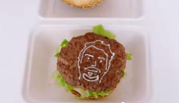 burger-selfie