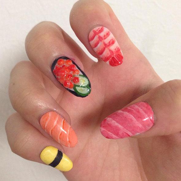sushi-nail-art