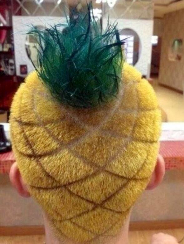 pineapple-haircut