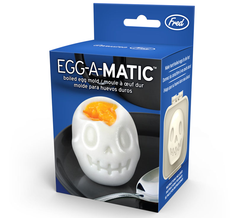 Egg-A-Matic Skull Egg Mold by foddiggity