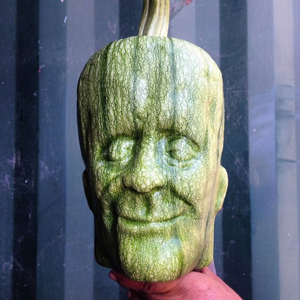 Frankenstein-Shaped Pumpkins Will Beat Up Your Jack O ...
