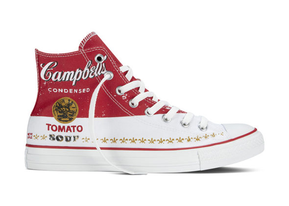 Converse Red And Black Canvas Shoes