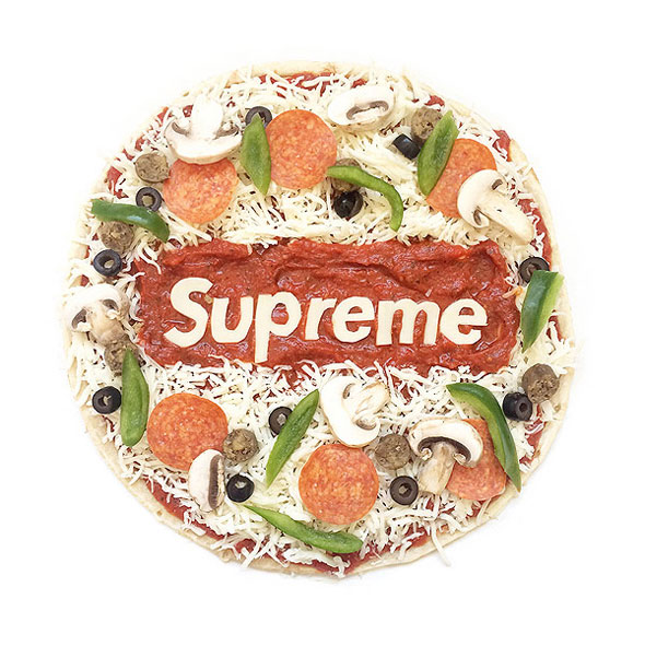 Streetwear and Fashion Logos Recreated With Food : Foodiggity