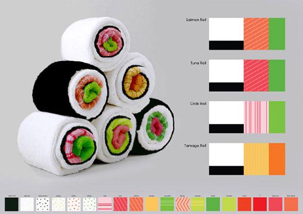 sushi-towel