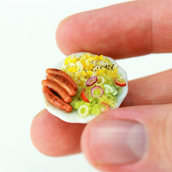These Miniature Food Models Are Deliciously Adorable
