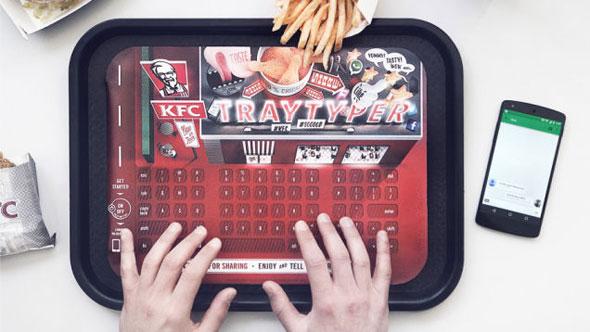 kfc-traytyper