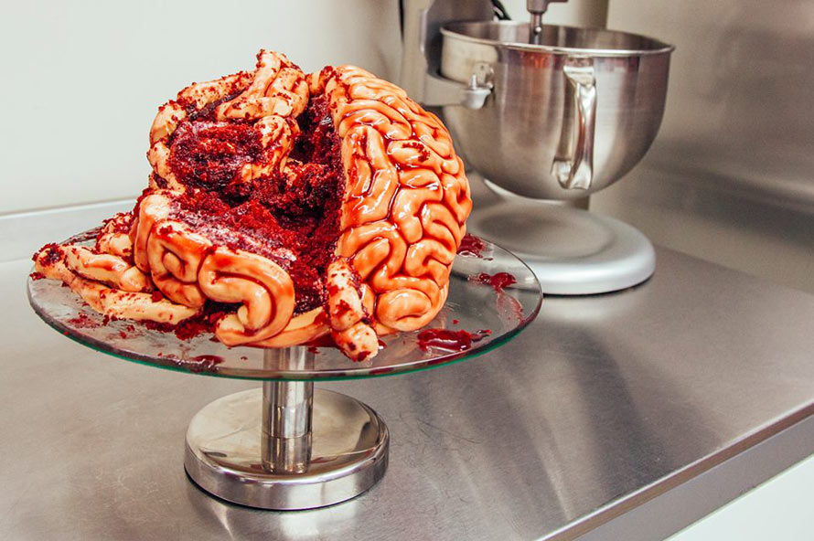 Here S A Realistic Brain Cake To Help You Feel Like A