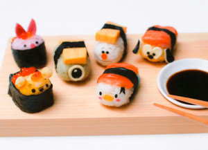 Disney Sushi Is Your Adorbz of The Day