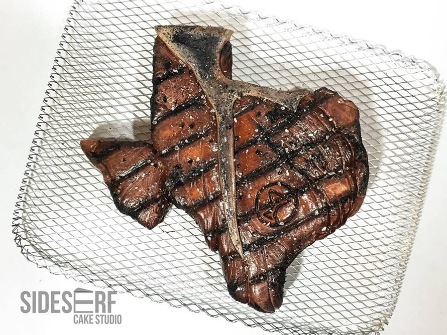 The Greatest Texas Shaped Steak Cake That You Ll See Today