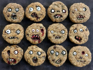 Creepy Chocolate Chip Cookies Are Creepy