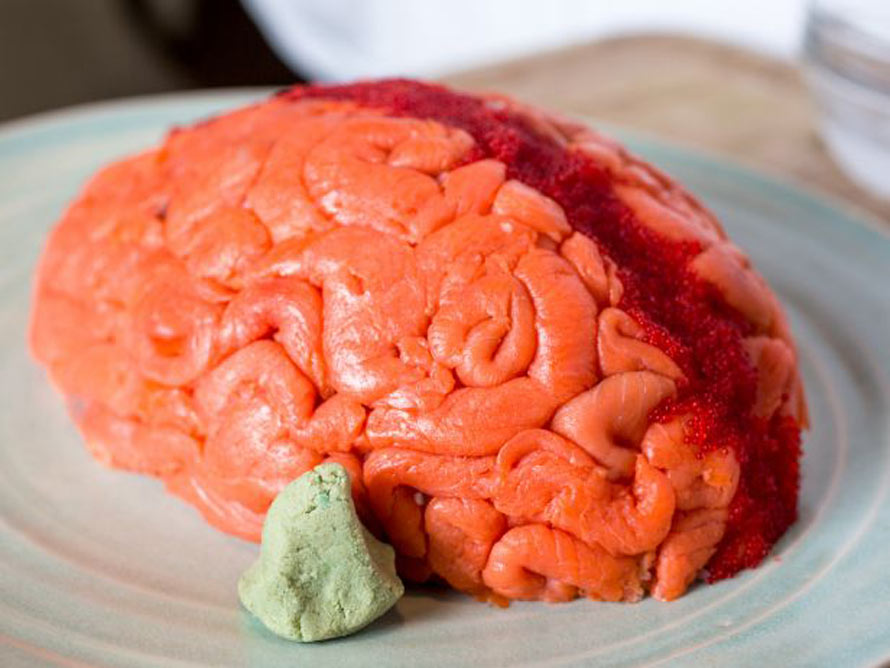 Rosanna Pansino Zombie Brain Cake Recipe
