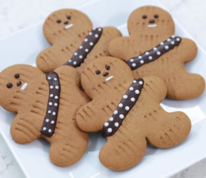 Chewbacca Gingerbread Men Are Perfect For Wookiees and Milk