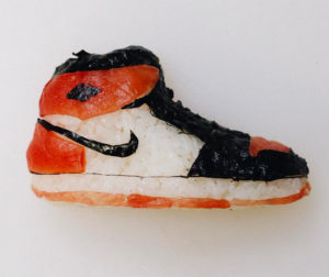 Sushi Sneakers Are Perfect For Dunking